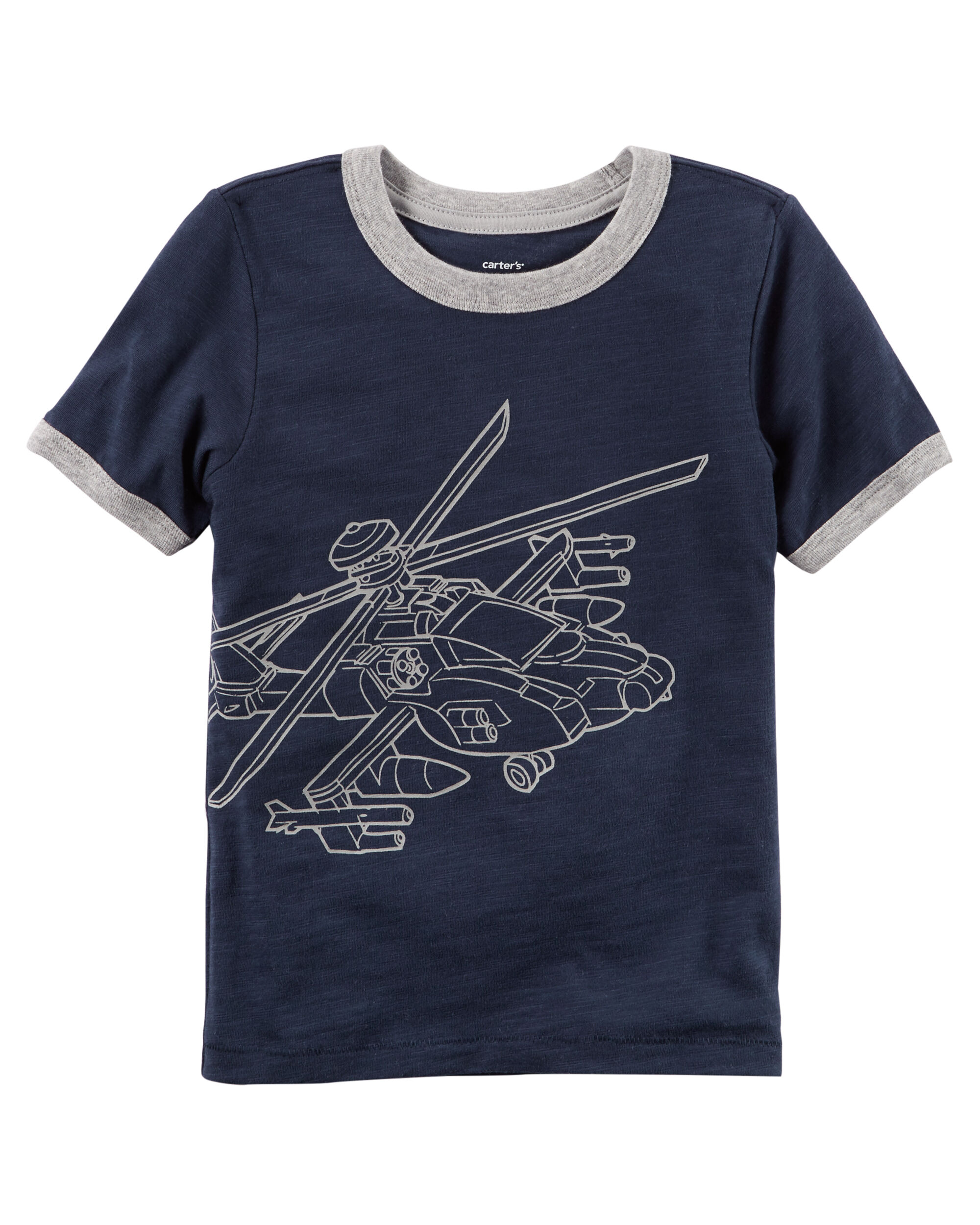 Helicopter Ringer Tee