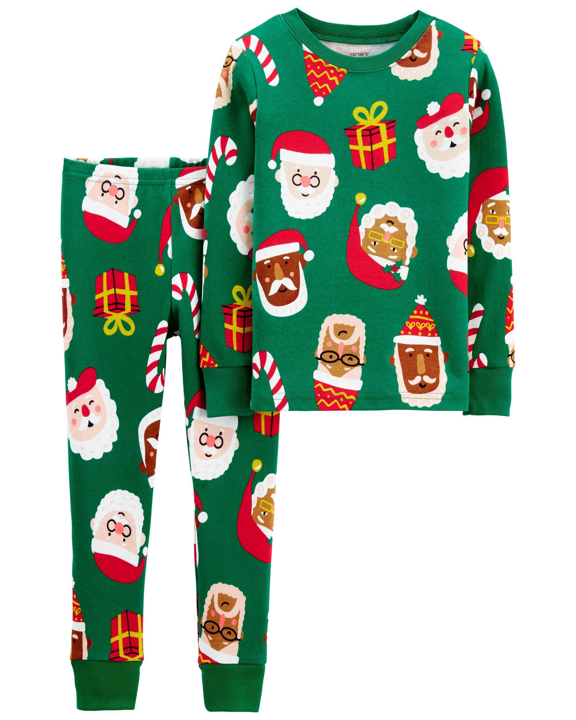 *CLEARANCE* 2-Piece Christmas 100% Snug Fit Cotton PJs