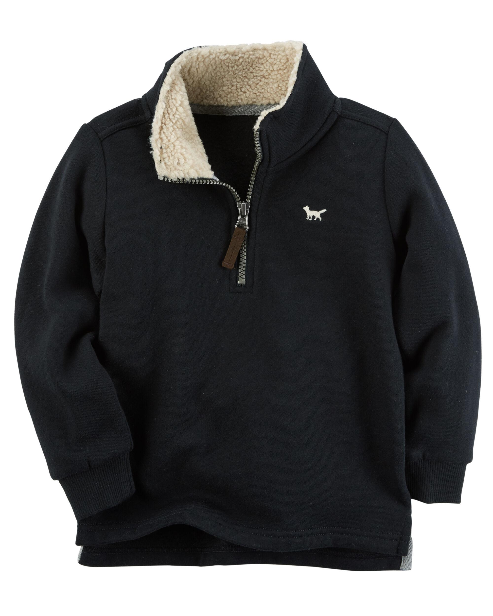 Half Zip-Up Fleece Sweater | Carters.com