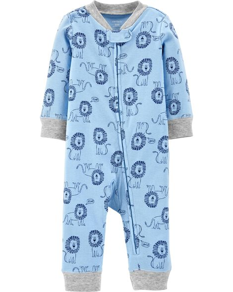 Lion Zip-Up Footless Sleep & Play