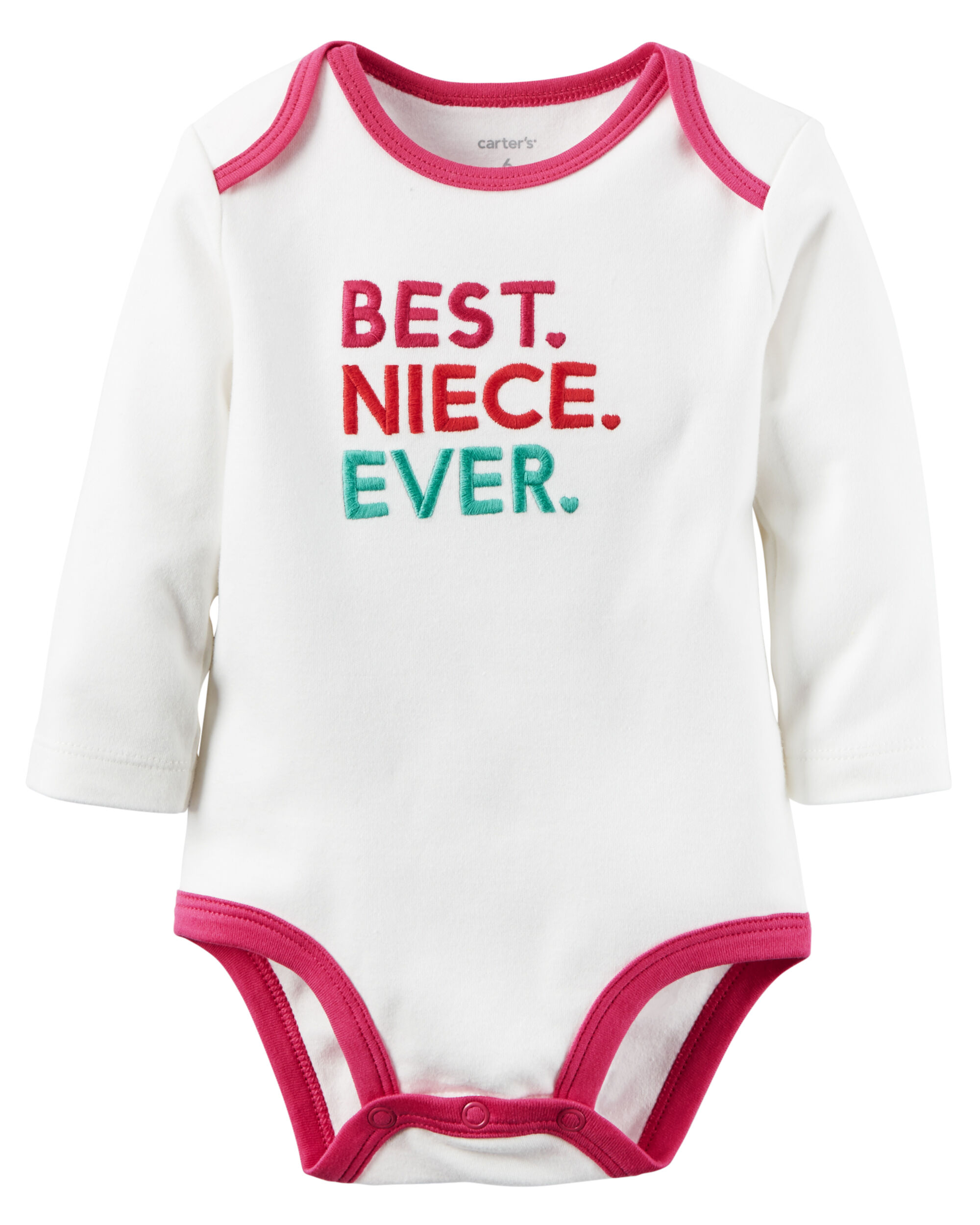 Best Niece Ever Collectible Bodysuit