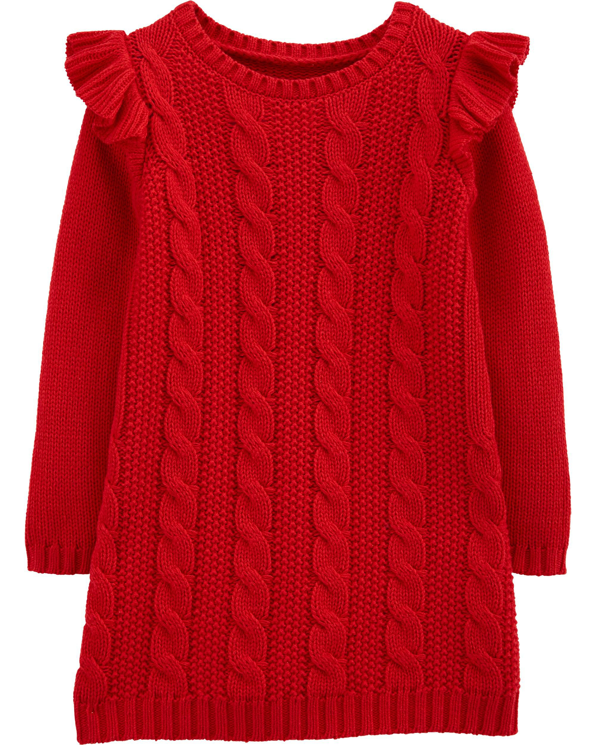 Cable Knit Sweater Dress |