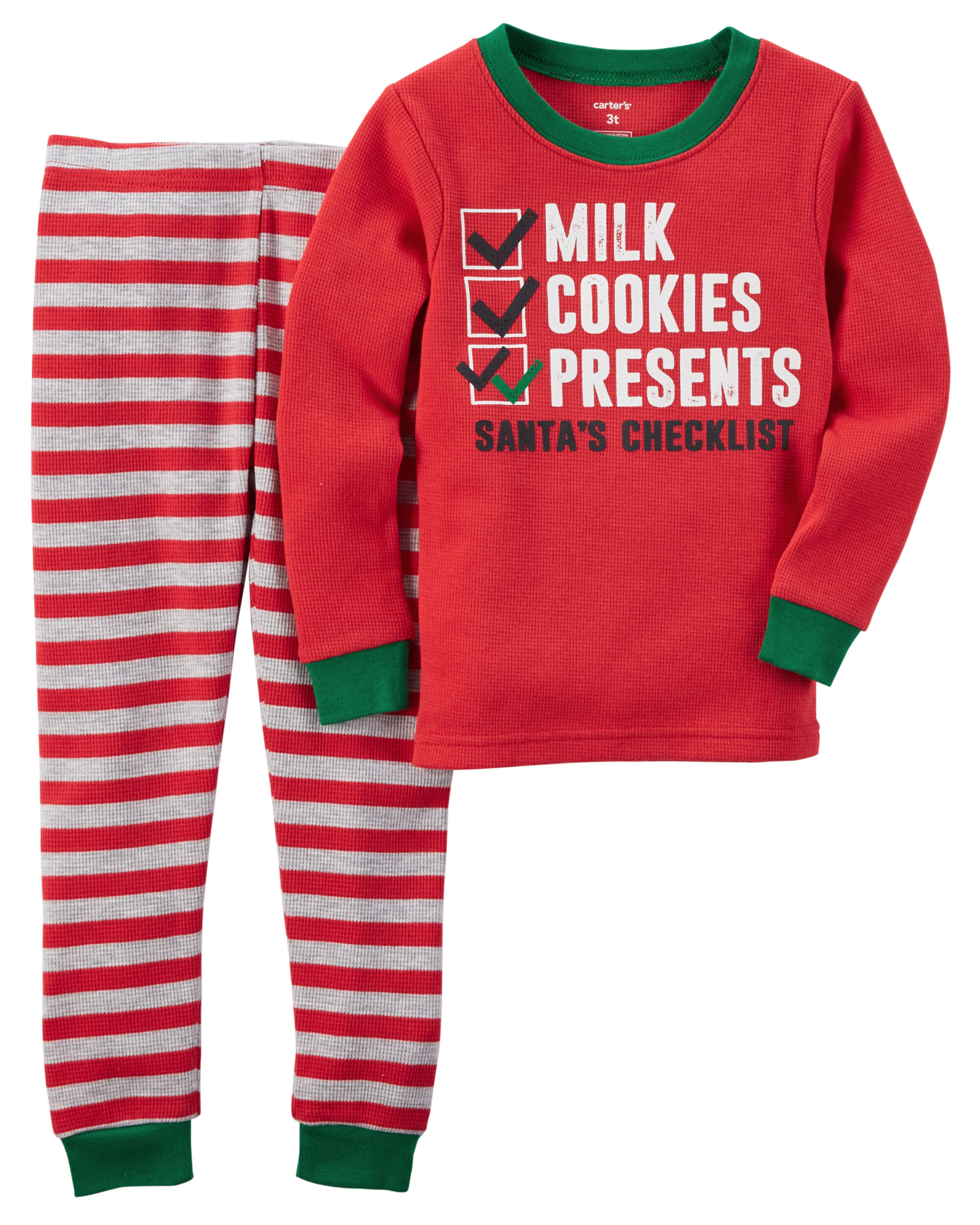 Christmas Toddler Pajamas