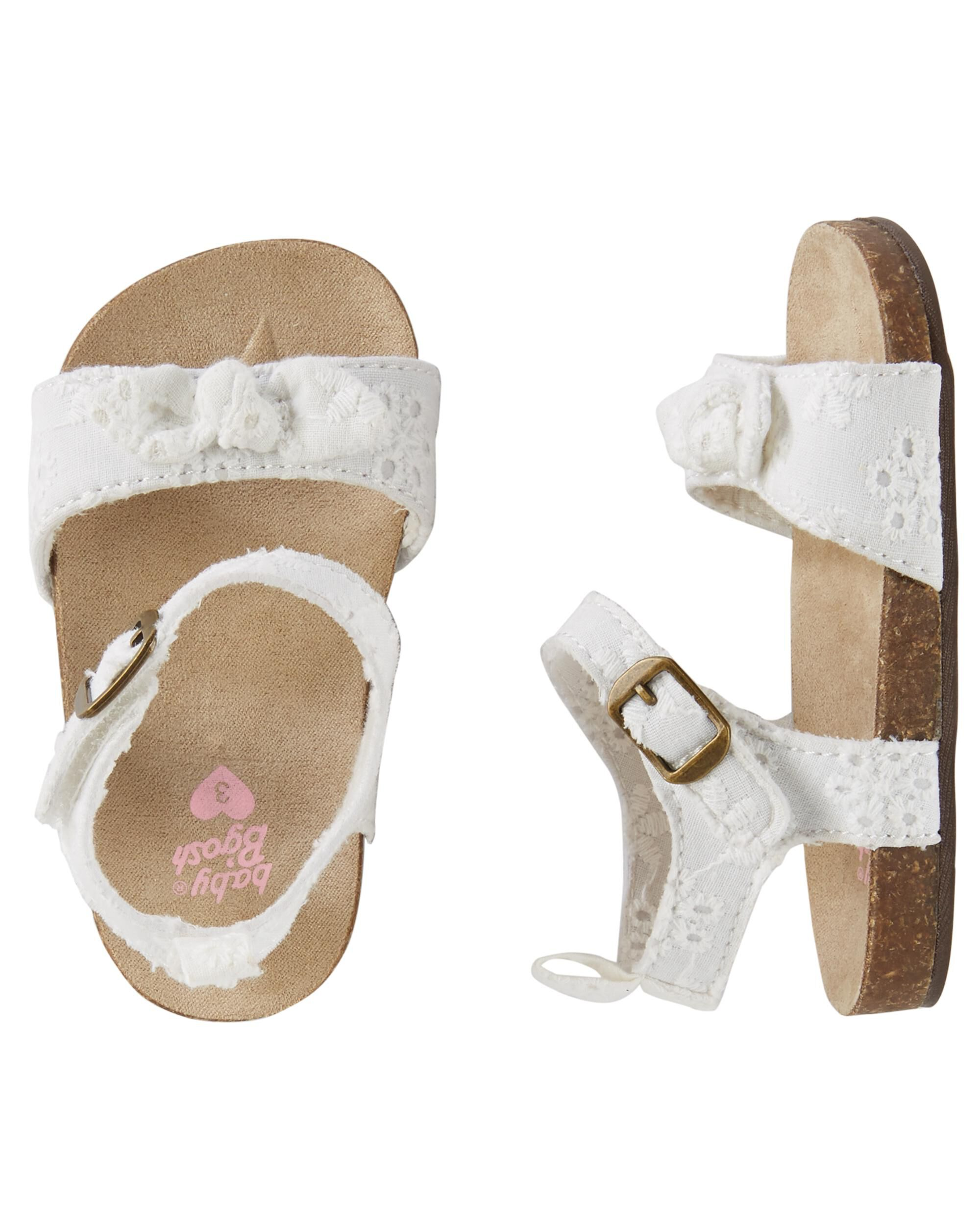 Baby Girl OshKosh Sandals Crib Shoes