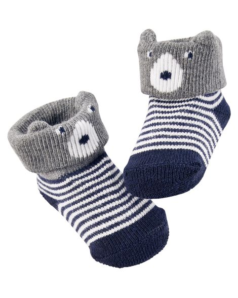571e59ac8 Bear Booties | Carters.com