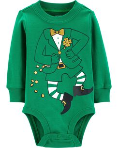 64a3a8f985f9 St. Patrick s Day Leprechaun Costume Bodysuit