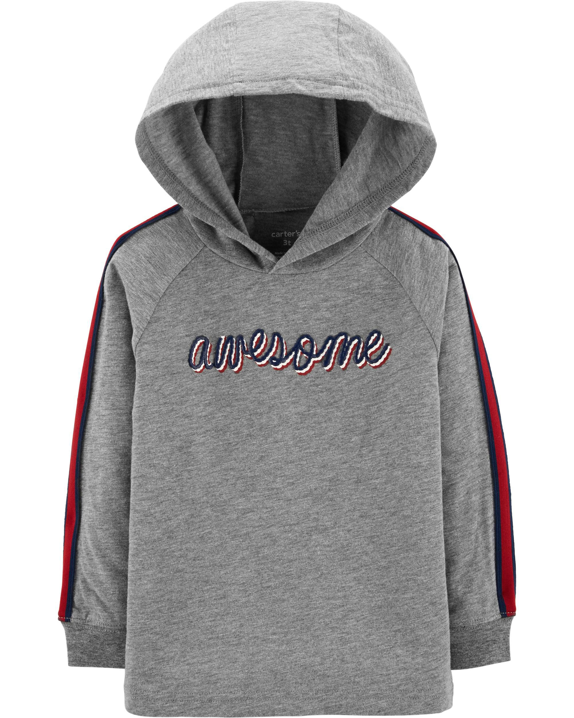 *CLEARANCE* Awesome Hooded Slub Jersey Tee