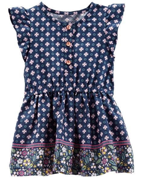 Jacquard Floral Sateen Dress