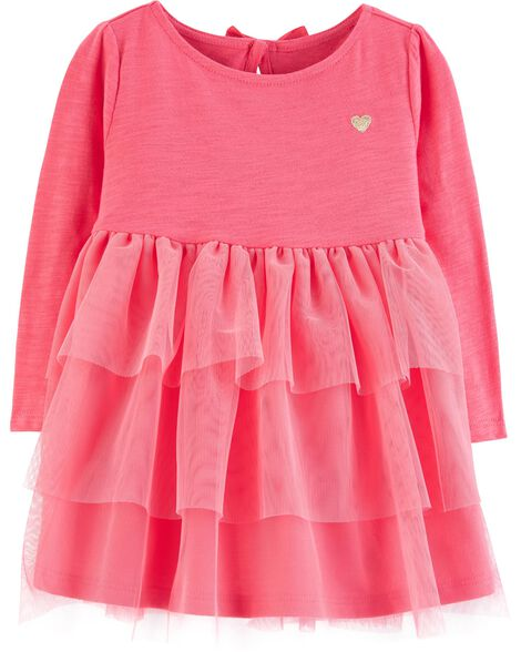 a450c136c Baby Girl Layered Tulle Dress
