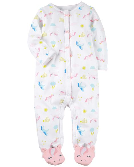 c6c743578 Snap-Up Unicorn Cotton Sleep   Play