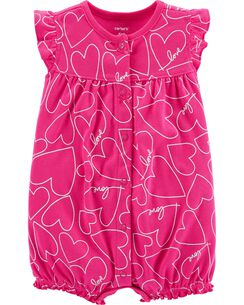 Baby Girl Infant Rompers Carters Com