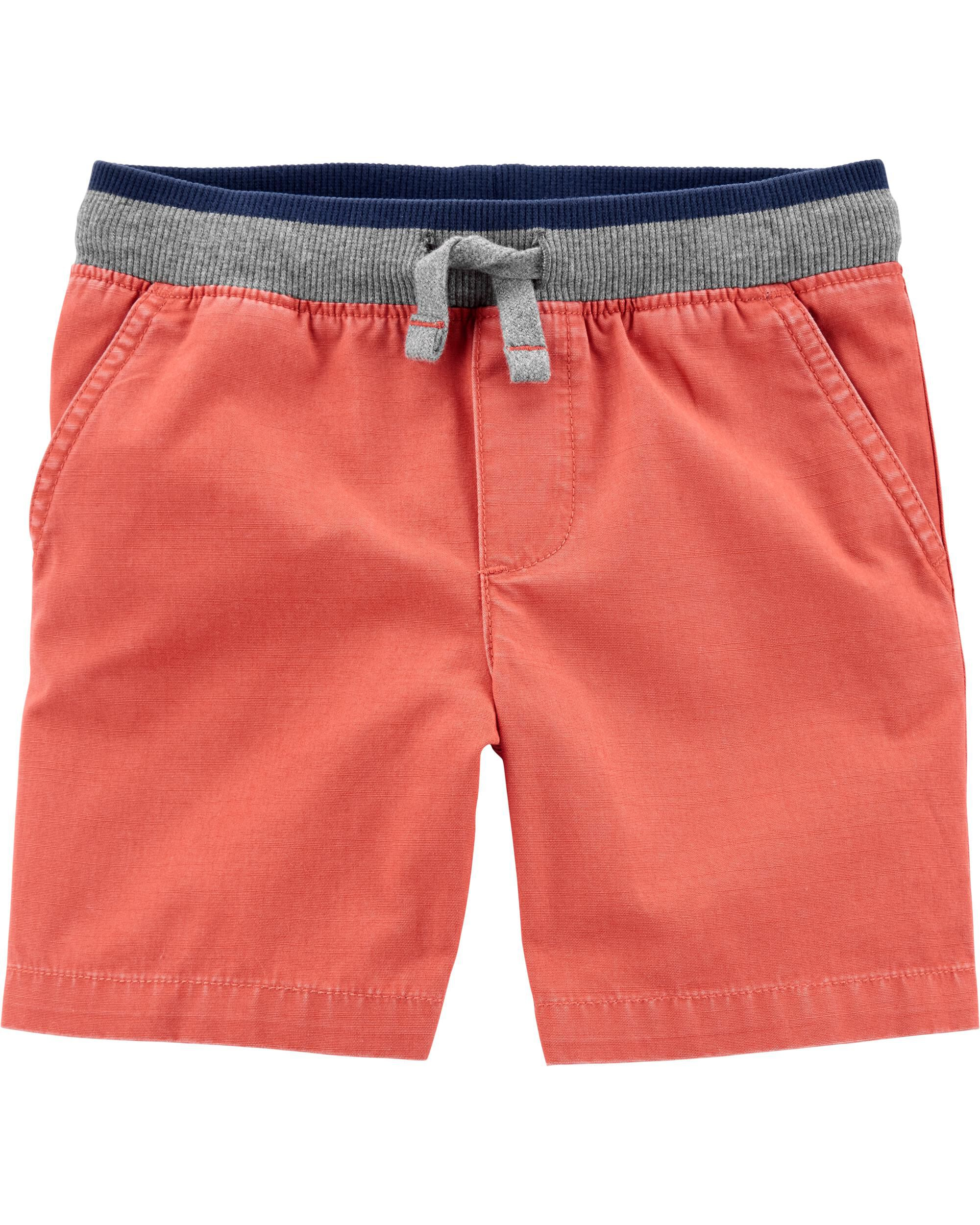 Carters Baby Boys Easy Pull-On Mesh Shorts 3 Months