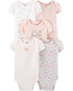 ed0f249a7 Baby Girl Bodysuits | Carter's | Free Shipping