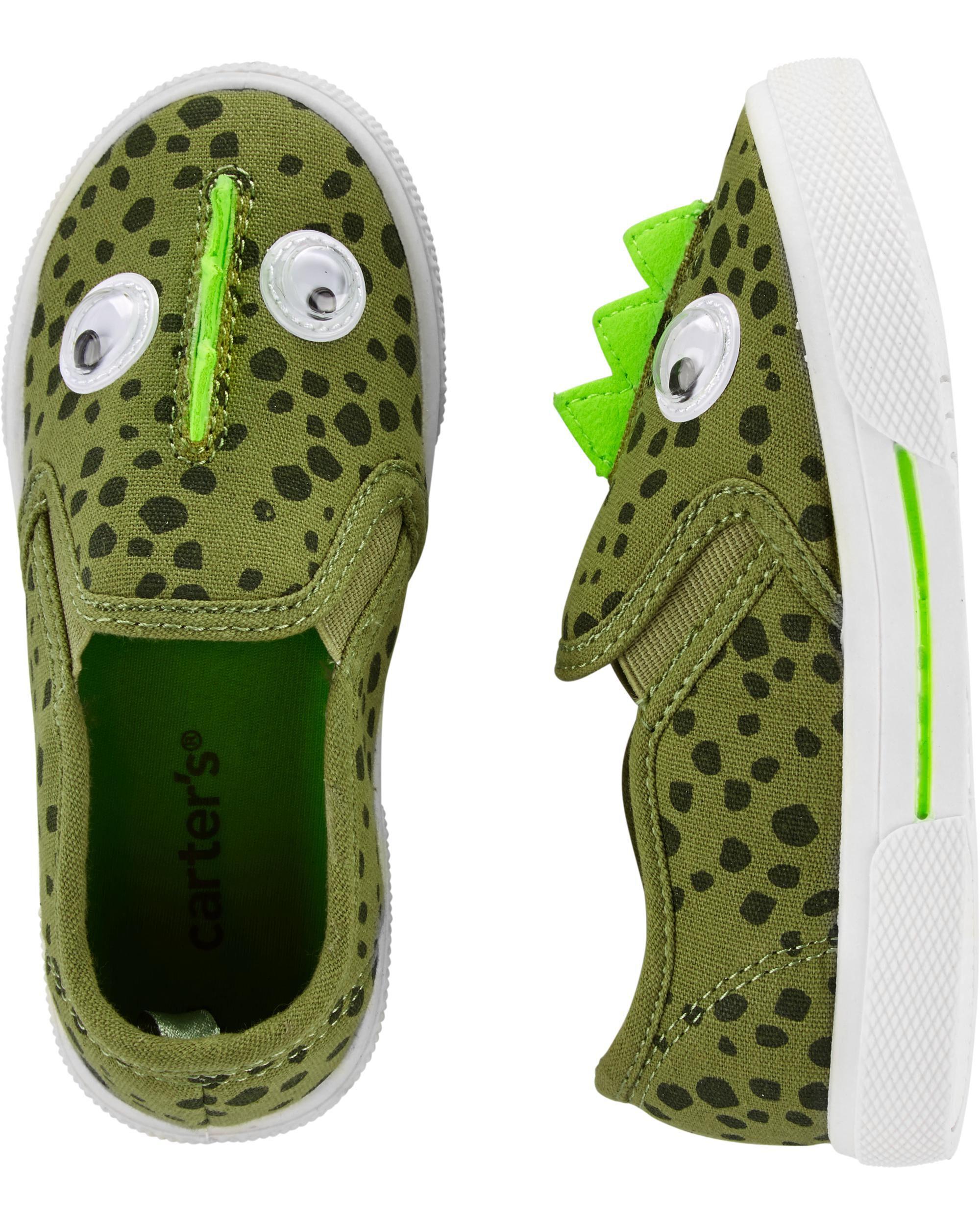 carters dinosaur shoes
