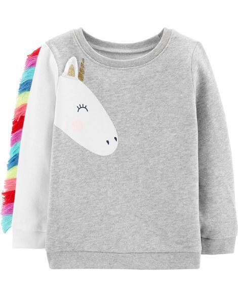 454948f93 Unicorn Fleece Sweatshirt