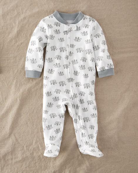 Certified Organic Cotton Zip-Up Sleep & Play