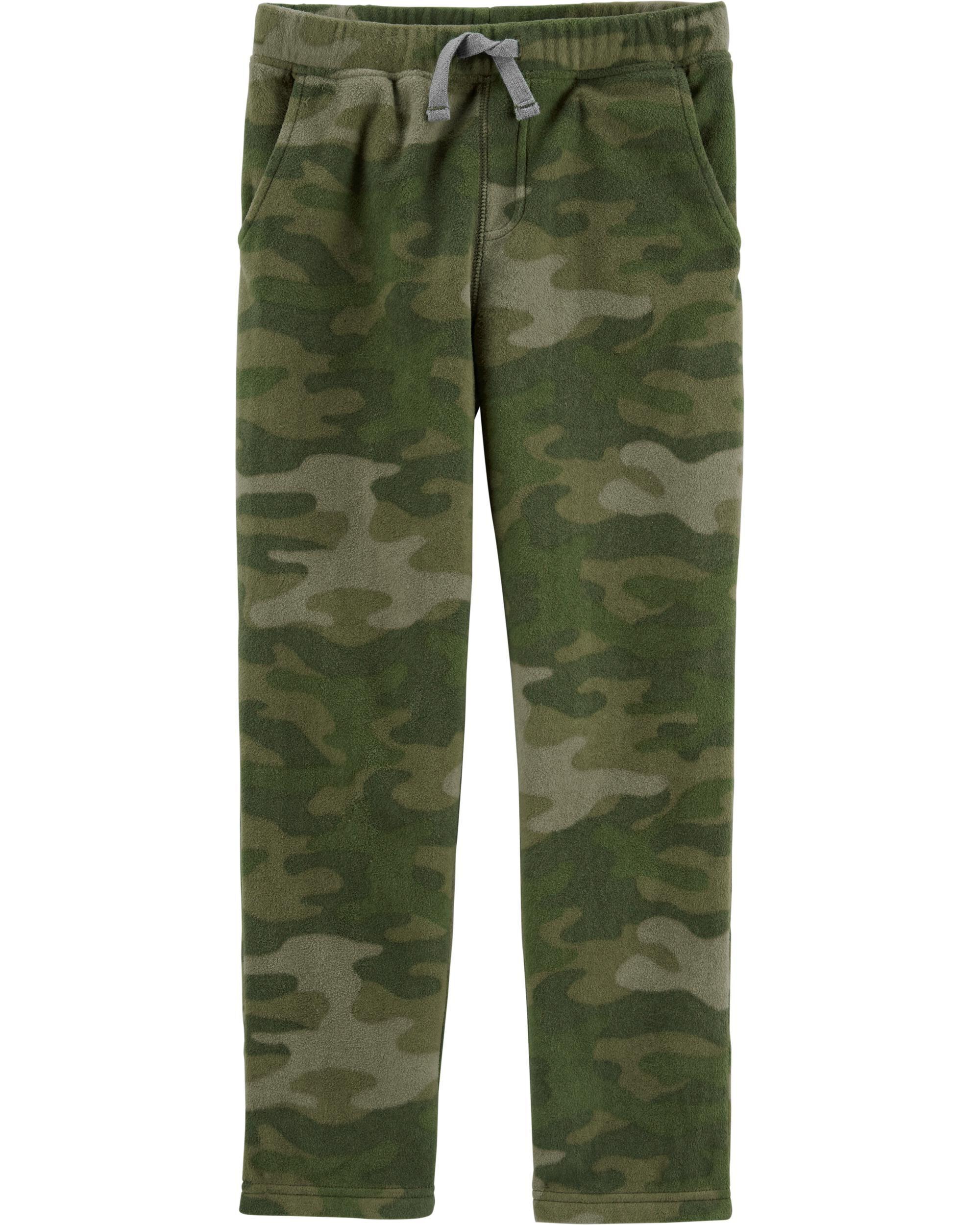 *DOORBUSTER* Camo Pull-On Fleece Pants