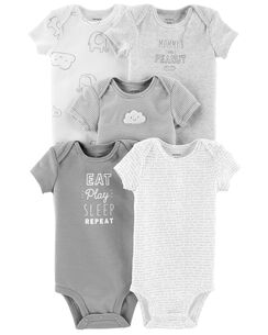 0d1f019a6f0f17 5-Pack Neutral Original Bodysuits