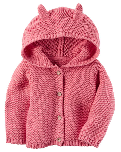 cc41562d2 Hooded Cardigan