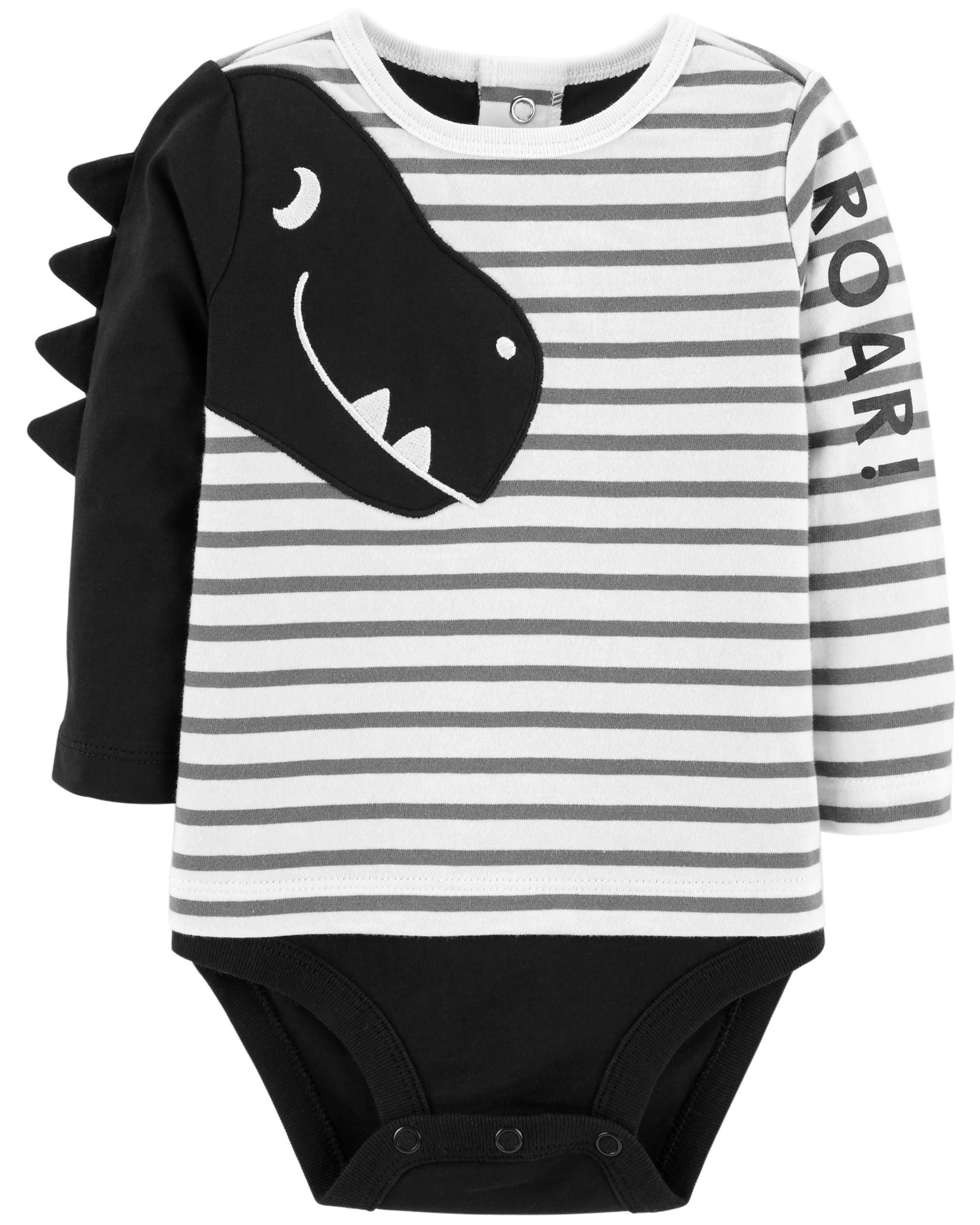 Romper Carters Baby Boy Dinosaur Roar