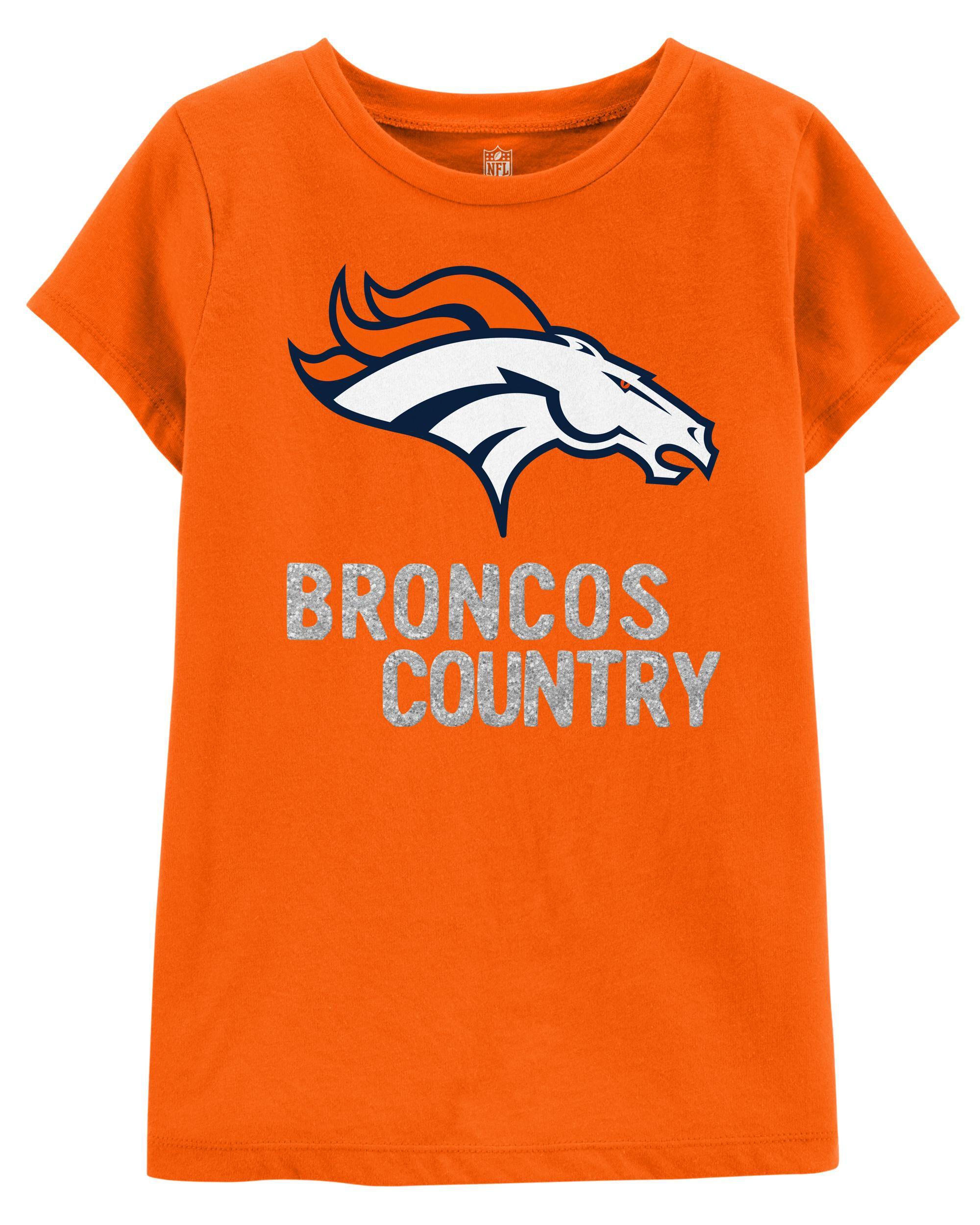 sparkly broncos shirt