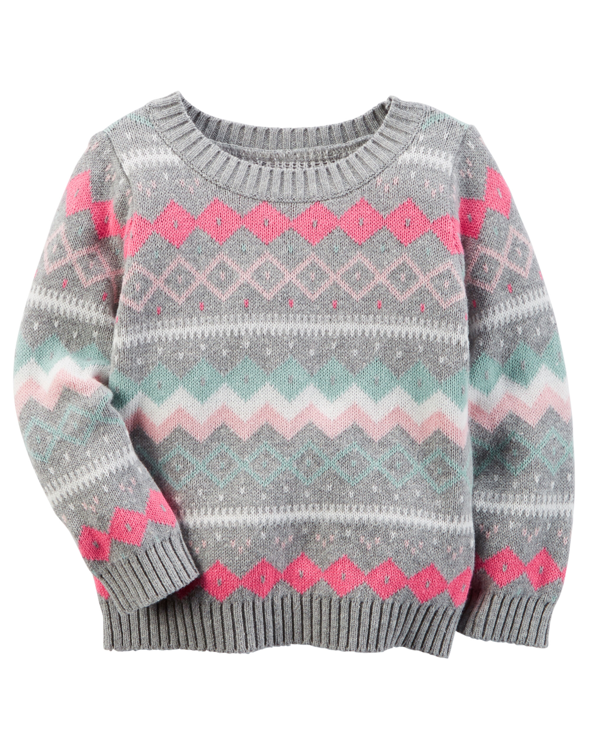 Fair Isle Sweater | Carters.com