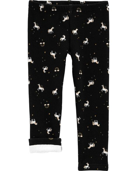 Unicorn Cozy Fleece Leggings