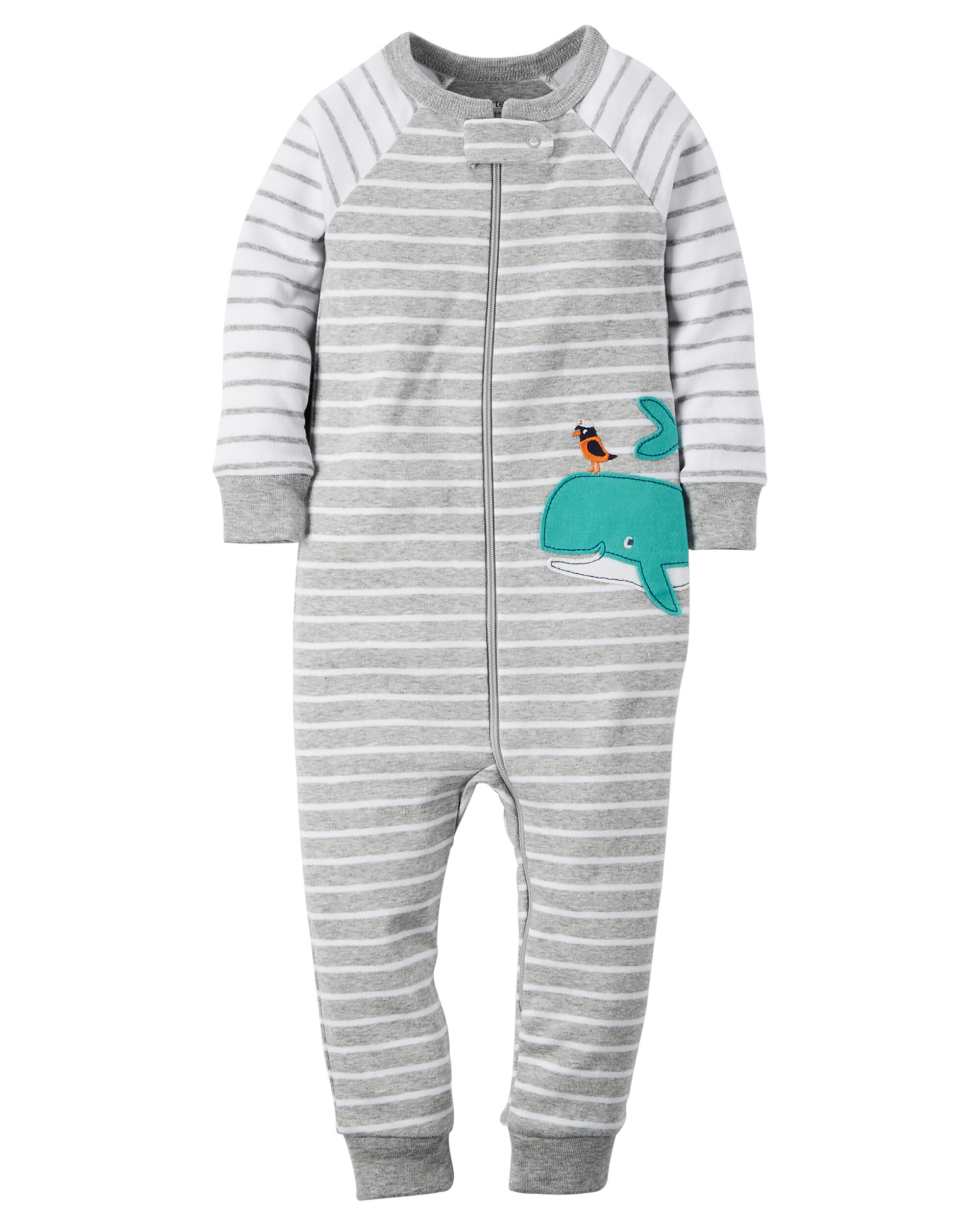 zoom up sleepers snap baby girl sleeper carters v piece pieces one en cotton footless ca loading
