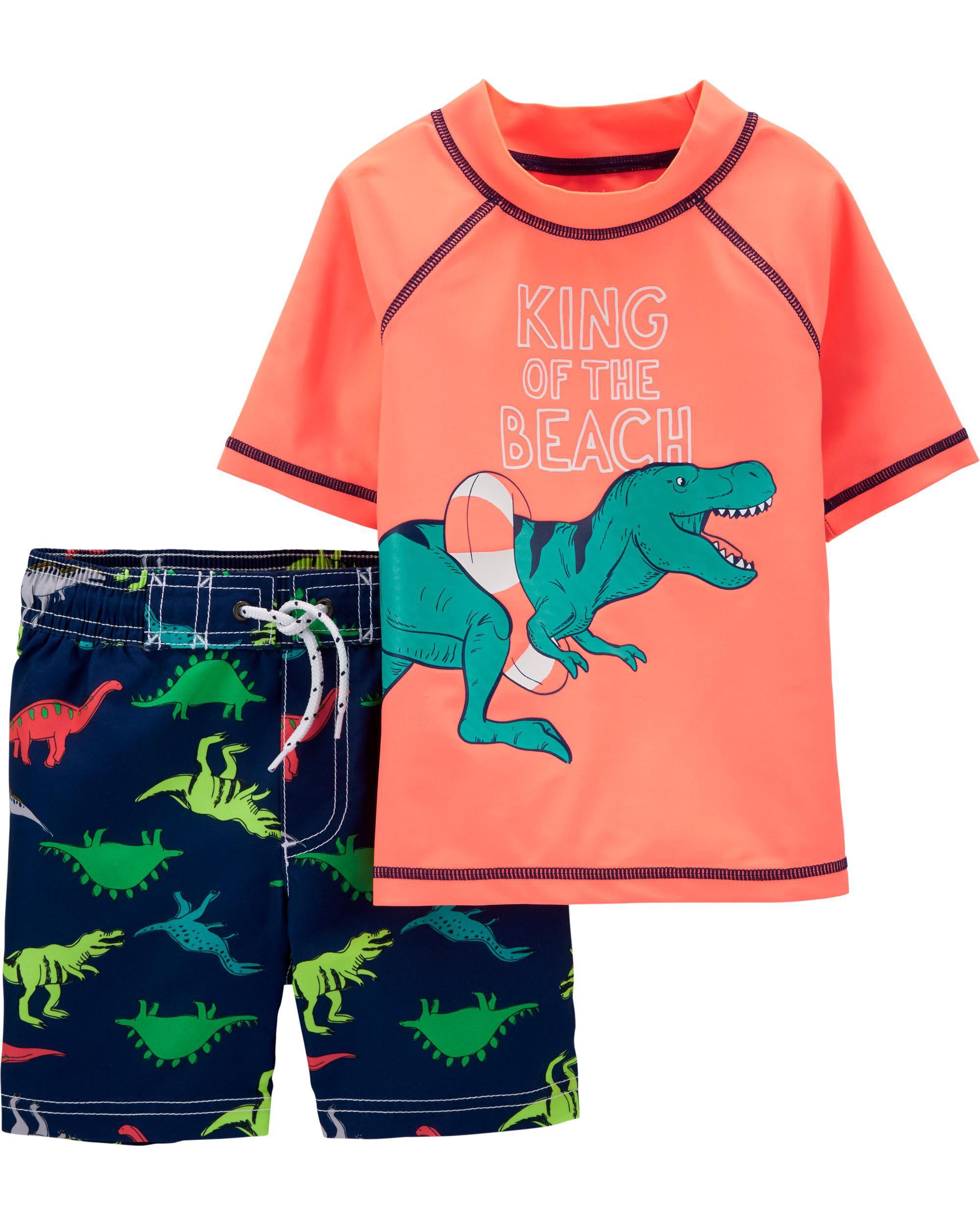 *CLEARANCE* Carter's Dinosaur Rashguard Set