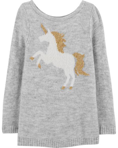 5eaf61ebe Glitter Unicorn Sweater