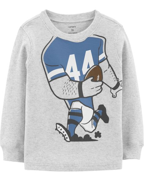 Football Player Costume Thermal Tee