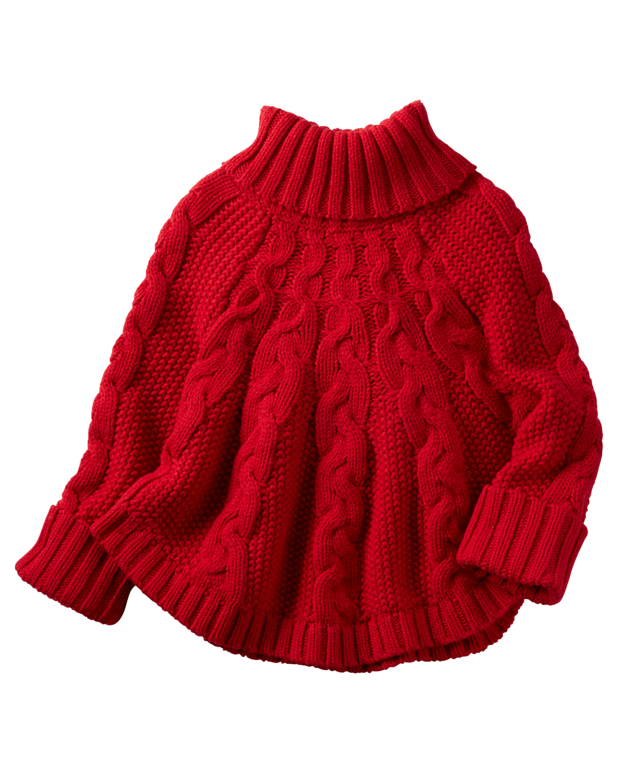 Poncho Turtleneck Sweater | Carters.com