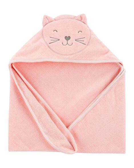 Cat Hooded Towel