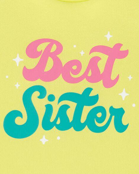 Best Sister Jersey Tee
