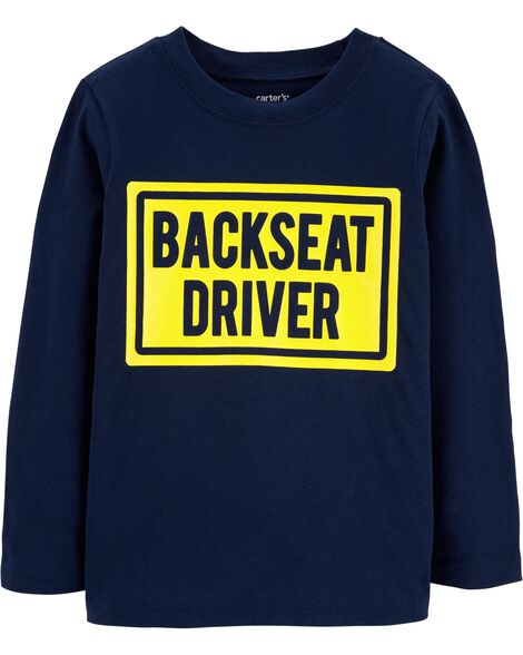 Backseat Driver Jersey Tee