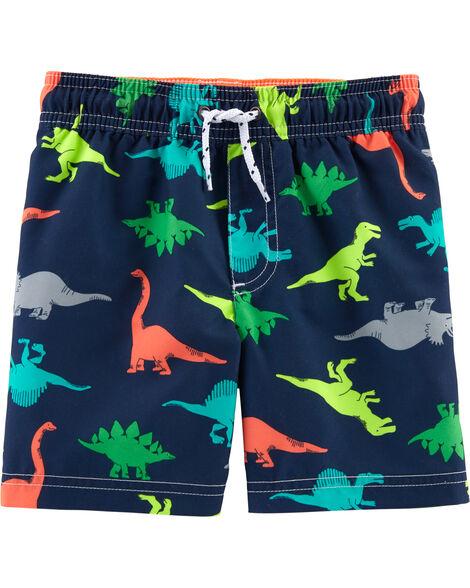 Carter's Dinosaur Print Swim Trunks