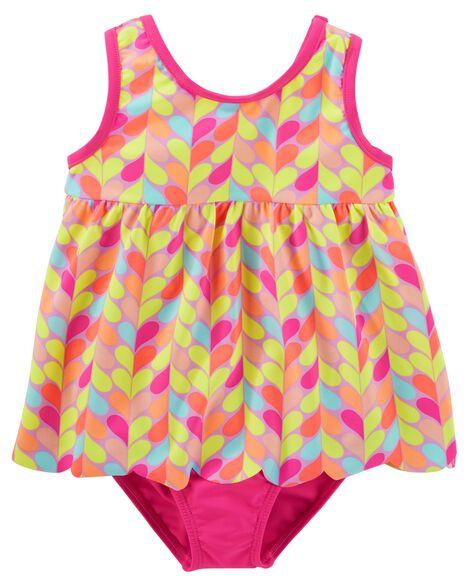 77c95454fb Toddler Girl OshKosh Heart Swimsuit | OshKosh.com