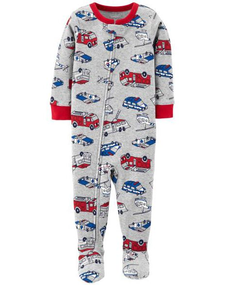 7e35477862f2 1-Piece Hero Snug Fit Cotton PJs