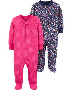 9ee09109d Baby Girl One-Piece Jumpsuits & Bodysuits | Carter's | Free Shipping