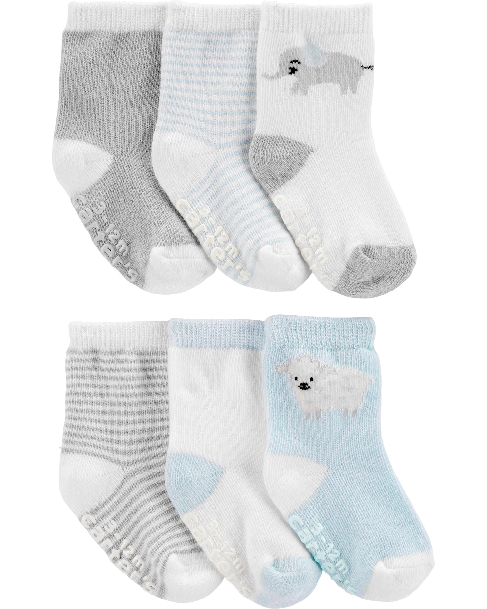 UK Made 6 pairs of soft CREAM Ankle Length Socks with Turn over Top Baby Boy or Girl 6 pairs suitable for any occasion