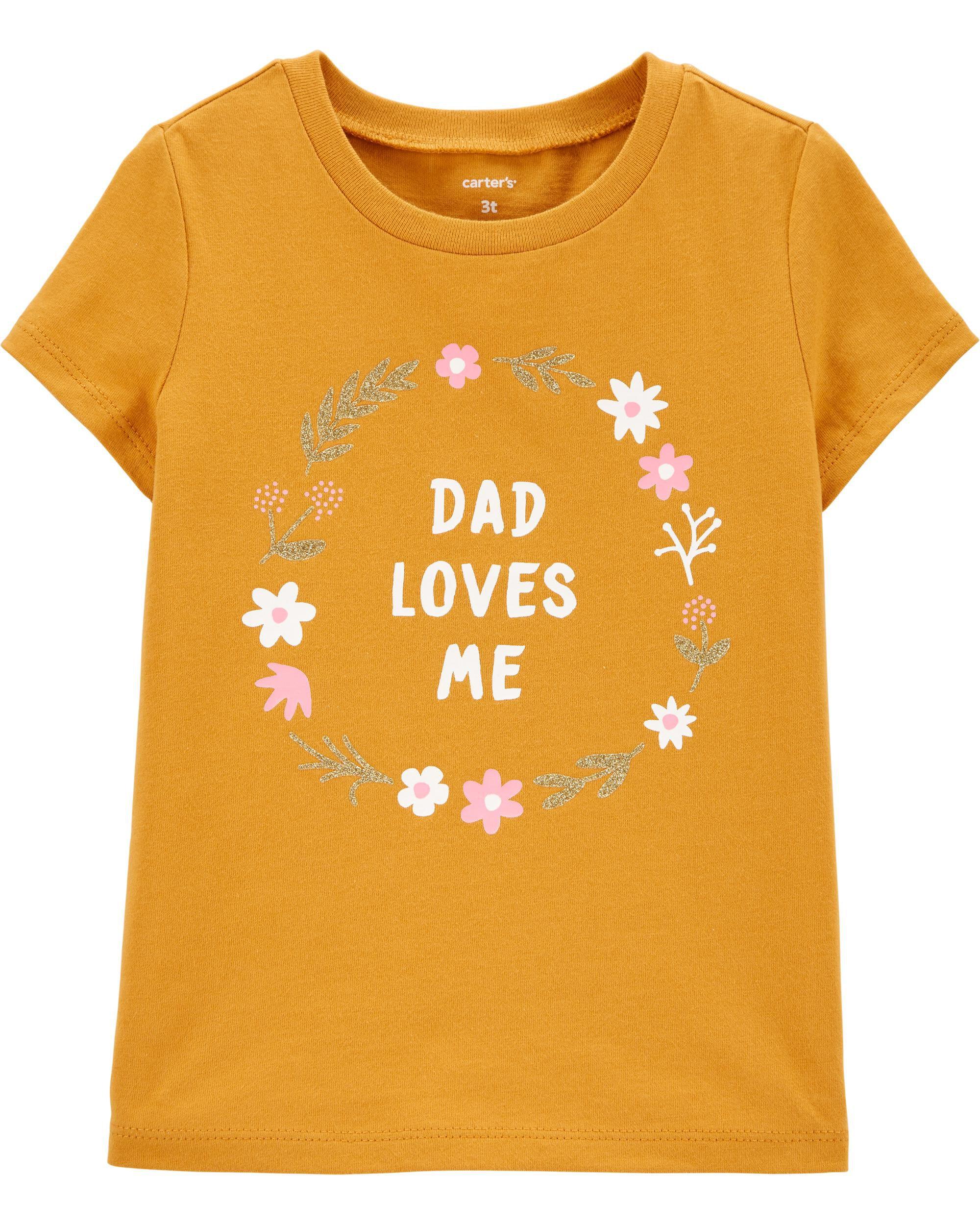 *DOORBUSTER* Daddy Loves Me Jersey Tee