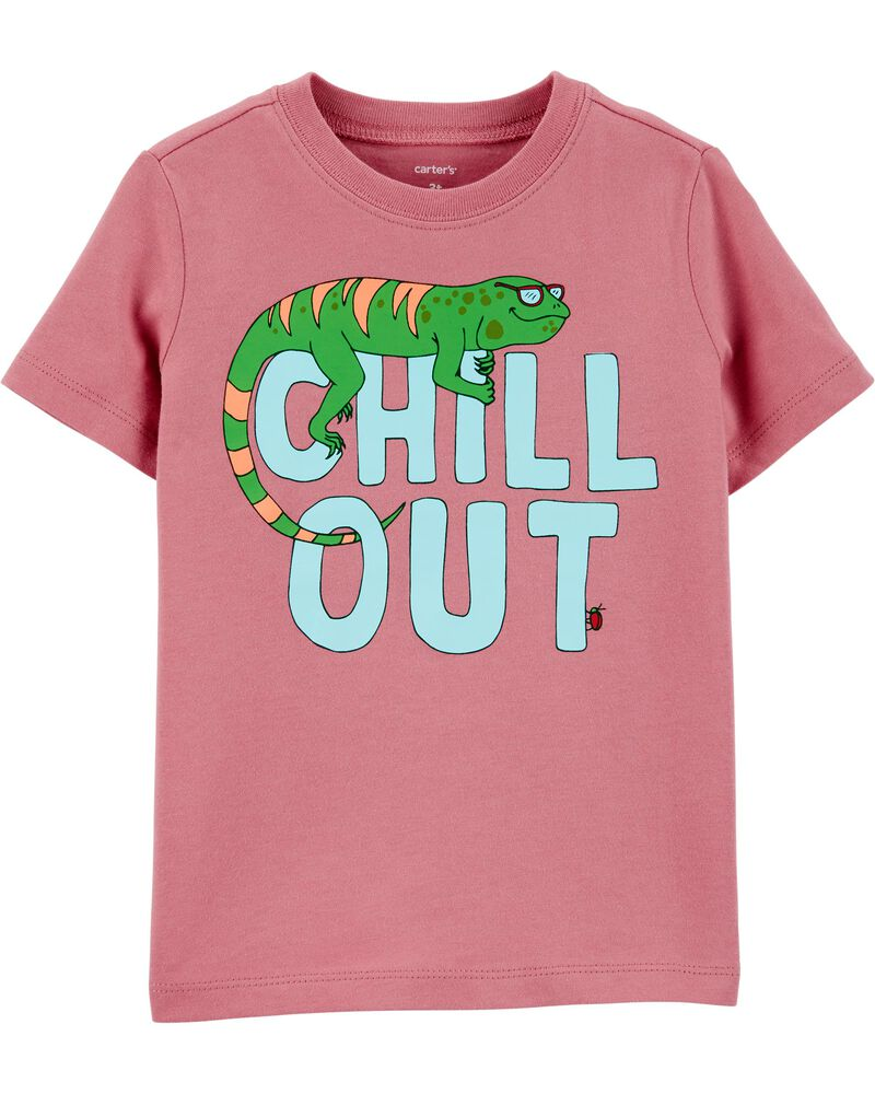 carters Chill Out Lizard Jersey Tee
