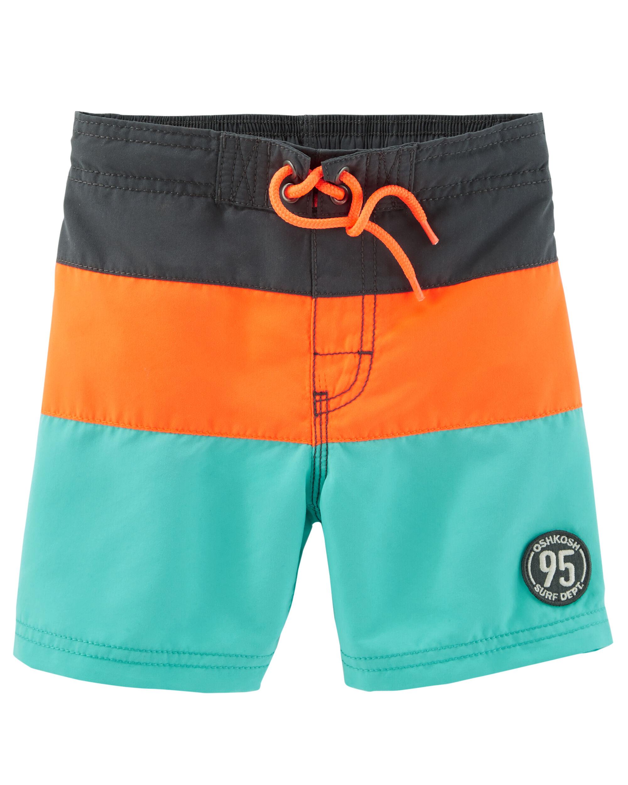Kid Boy OshKosh Colorblock Swim Trunks   OshKosh.com Swim Trunks on swim toys, swim sandals, swim robes for women, swim jammer, swim dress, swim blankets, swim rash guard, swim shorts, swim goggles, compression shorts, swim pants, swim camisole, one-piece swimsuit, swim capris for women, swim boots, boxer shorts, square leg suits, swim briefs france, swim tights, swim skort, boxer briefs,