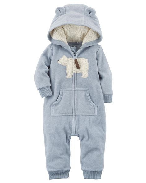 2f33a0dc2 Polar Bear Fleece Jumpsuit