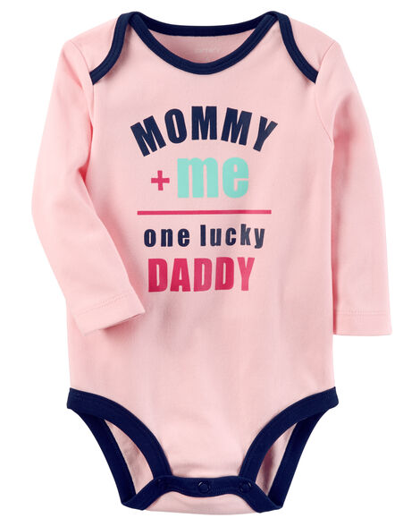 ab240c726 One Lucky Daddy Collectible Bodysuit | Carters.com