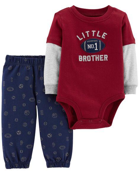 8dcd9e005805 2-Piece Bodysuit Pant Set   Carters.com