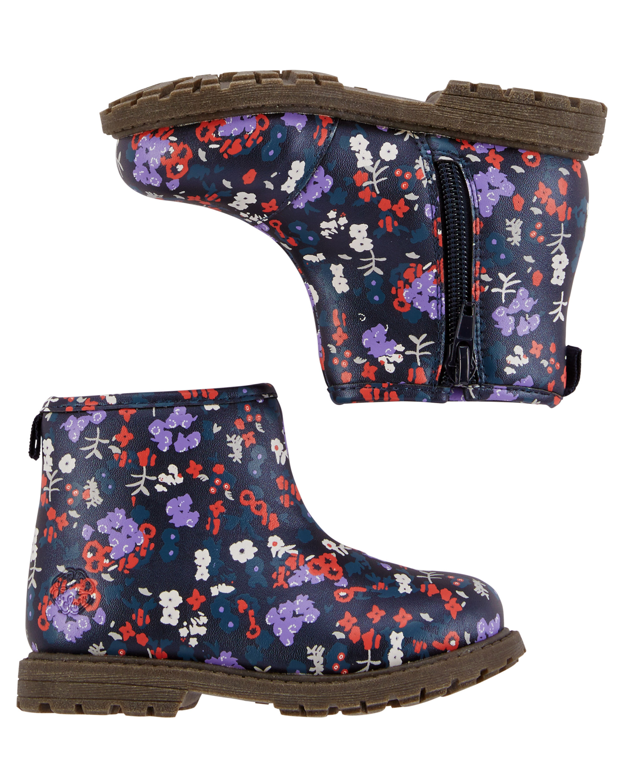 Baby Girl OshKosh Floral Booties