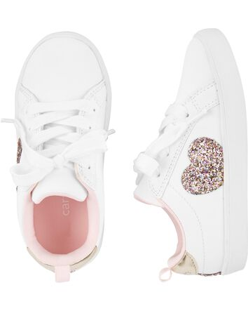 Pretty Floral//White Trainers Toddler//Young Girl Sizes UK 11-2 *NEW*