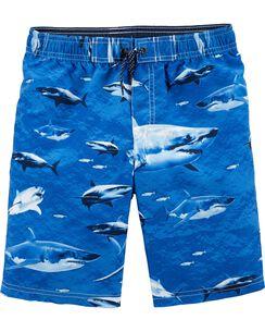 25663db2575 Carter s Shark Swim Trunks