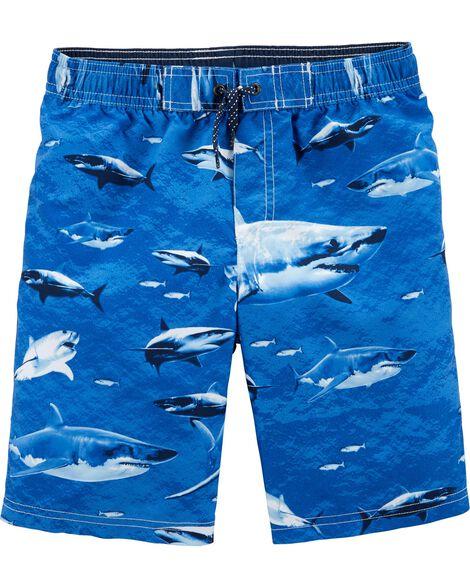 494a2ec722 Carter's Shark Swim Trunks | Carters.com
